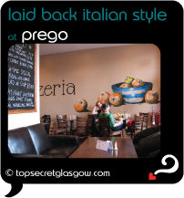 Top Secret Glasgow Quote Bubble showing unusual, calming interior decor.