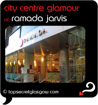 Top Secret Glasgow Quote Bubble showing main entrance from pavement.