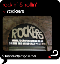 Top Secret Glasgow Quote Bubble showing exterior of main door.