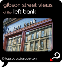 glasgow left bank gibson street views