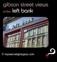 glasgow left bank gibson street views