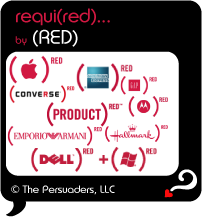 Top Secret Quote Bubble in black, product supporters of (PRODUCT) RED