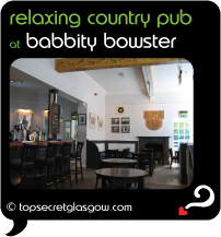 Top Secret Glasgow Quote Bubble showing airy interior.