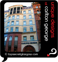 Top Secret Glasgow Quote Bubble showing building facade from street.