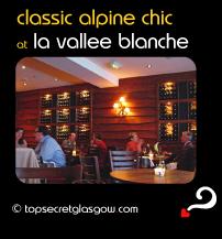 glasgow la vallee blanche classic alpine chic