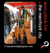 glasgow merchant city festival euro plonk fun