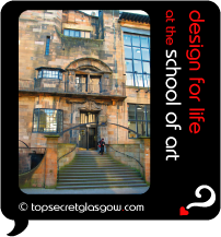glasgow school of art design for life