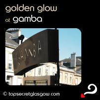Gamba Exterior Golden Glow
