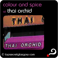 glasgow thai orchid colour and spice