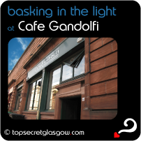 Cafe Gandolfi - food in a